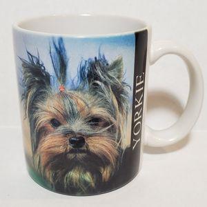 Vintage YORKIE Yorkshire Terrier Dog Coffee Mug
